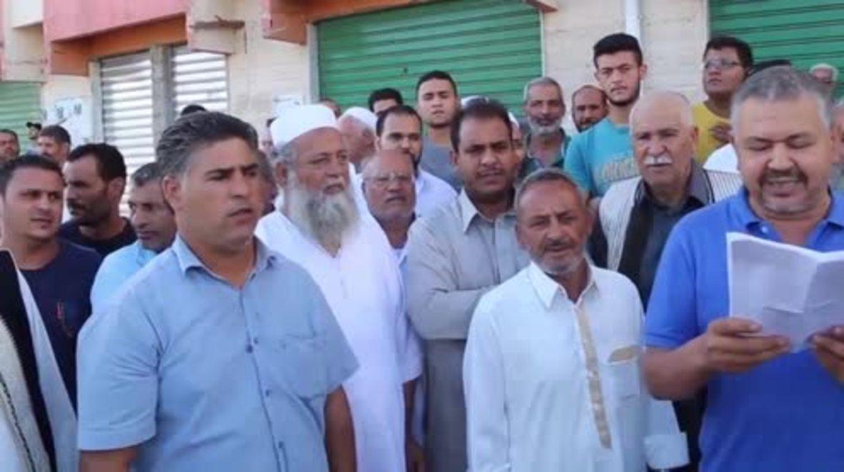 Libya: Al-Zawya citizens dodge live ammo while celebrating Benghazi recapture