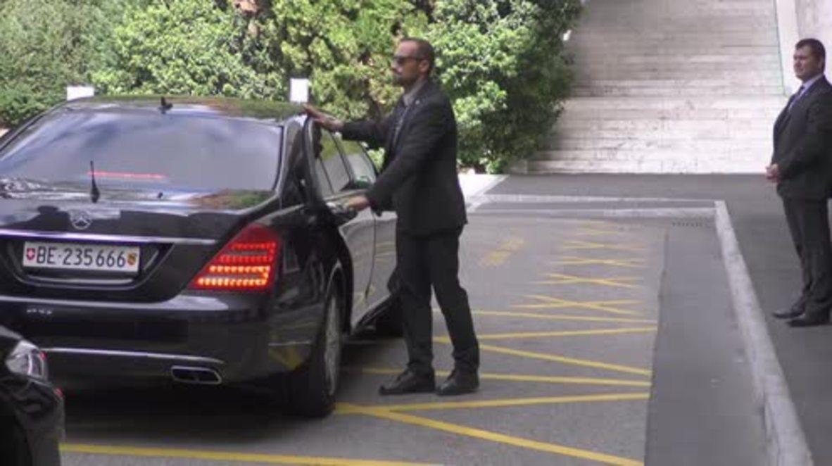 Switzerland: De Mistura and HNC arrive for UN-led Syria talks in Geneva