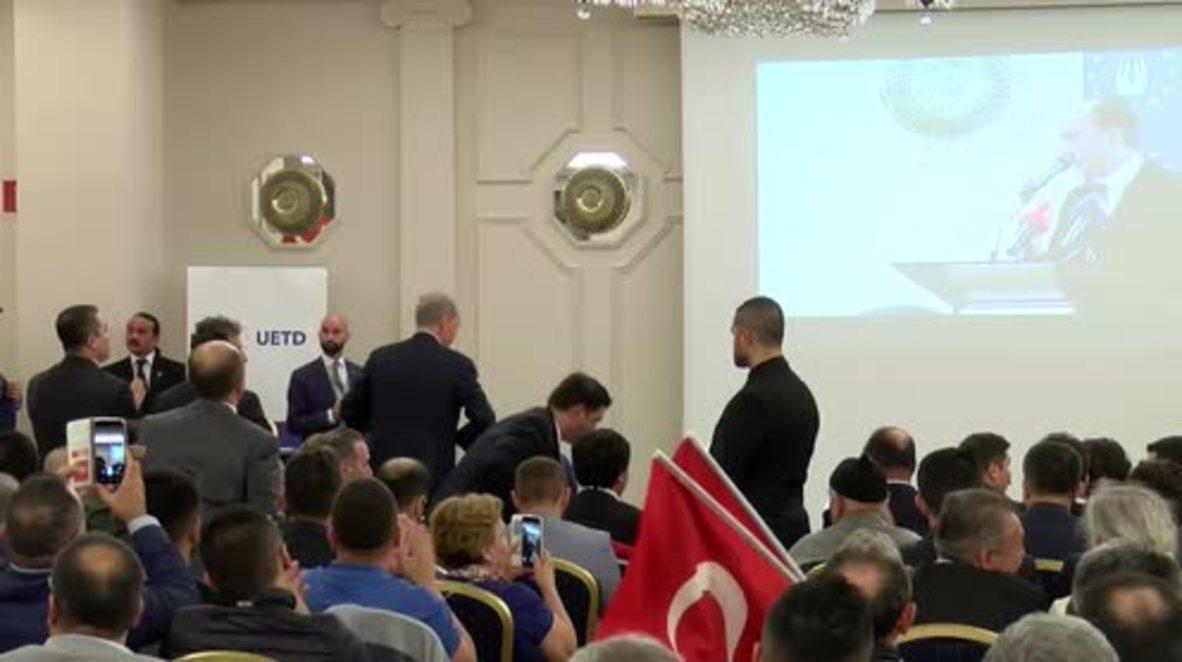 Belgium: Racism, 'Turcophobia' among Europe's biggest threats - Turkish deputy PM