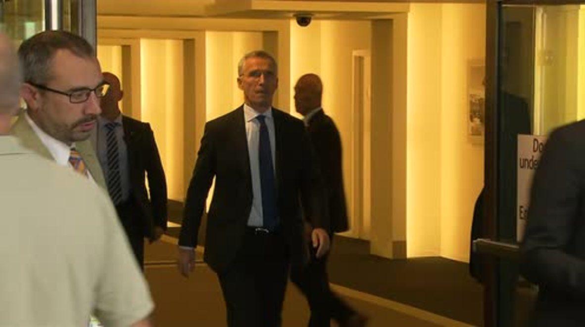 Belgium: 'Fundamental disagreements' remain despite progress – Stoltenberg at NATO-Russia Council