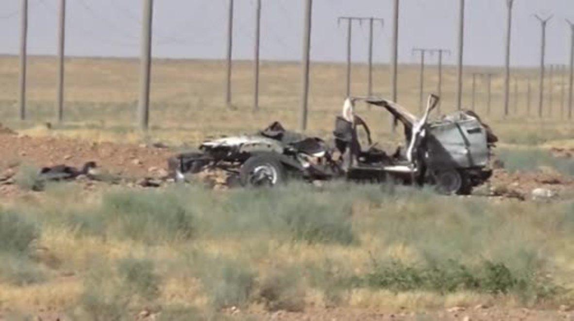 Syria: Govt. forces intercept militants' arms cache en route to W. Raqqa - reports