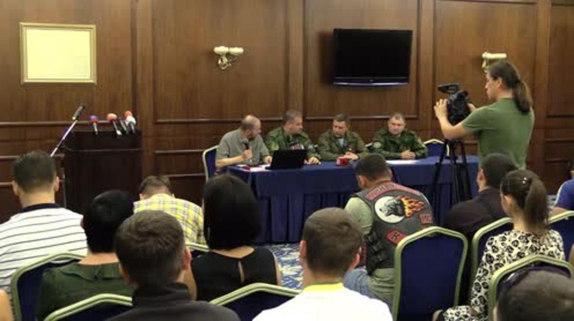 Ukraine: DPR's Zakharchenko proclaims new 'state' of Malorossiya
