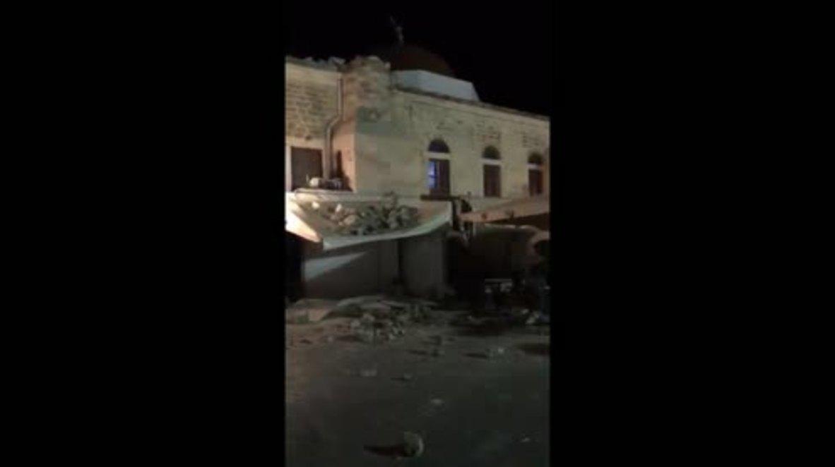 Greece: 2 dead following 6.7 magnitude earthquake in Mediterranean Sea