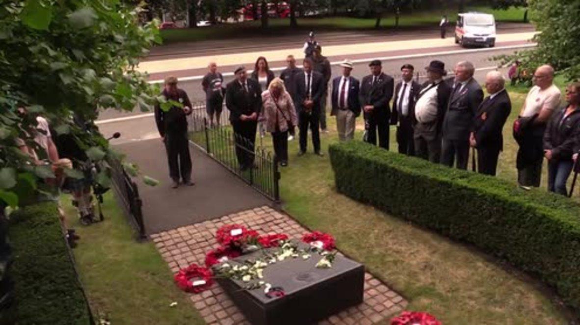 UK: Veterans commemorate 35th anniversary of Hyde Park IRA bombings