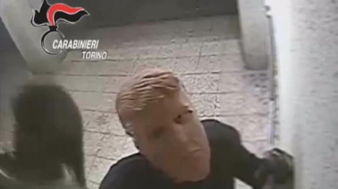 Trump twins foiled after cash machine heist