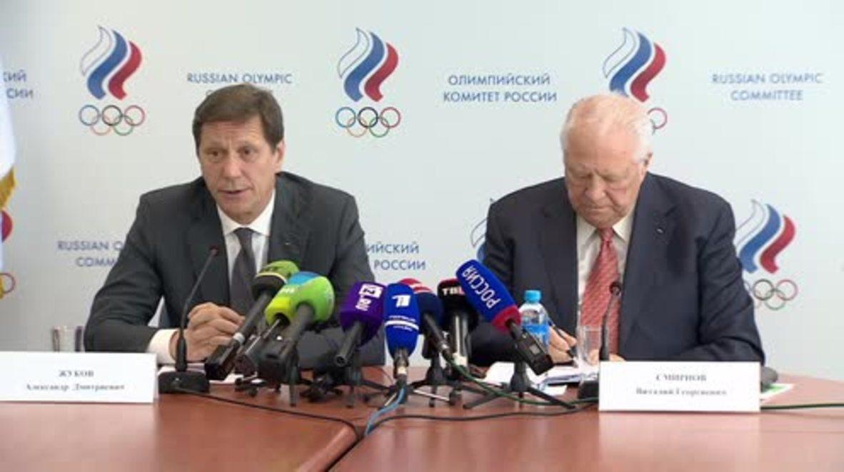 Russia: Olympic Committee's Zhukov hopes RUSADA 'fully restored' at WADA Congress