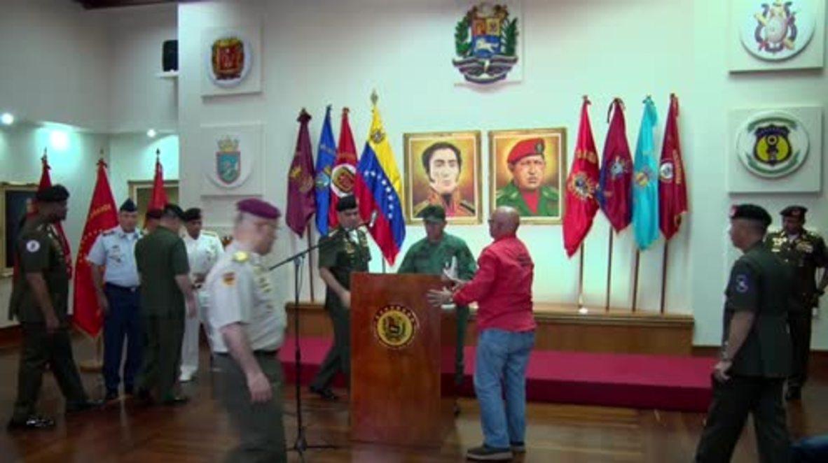 Venezuela: Defence chiefs back Maduro after Constituent Assembly vote, US sanctions