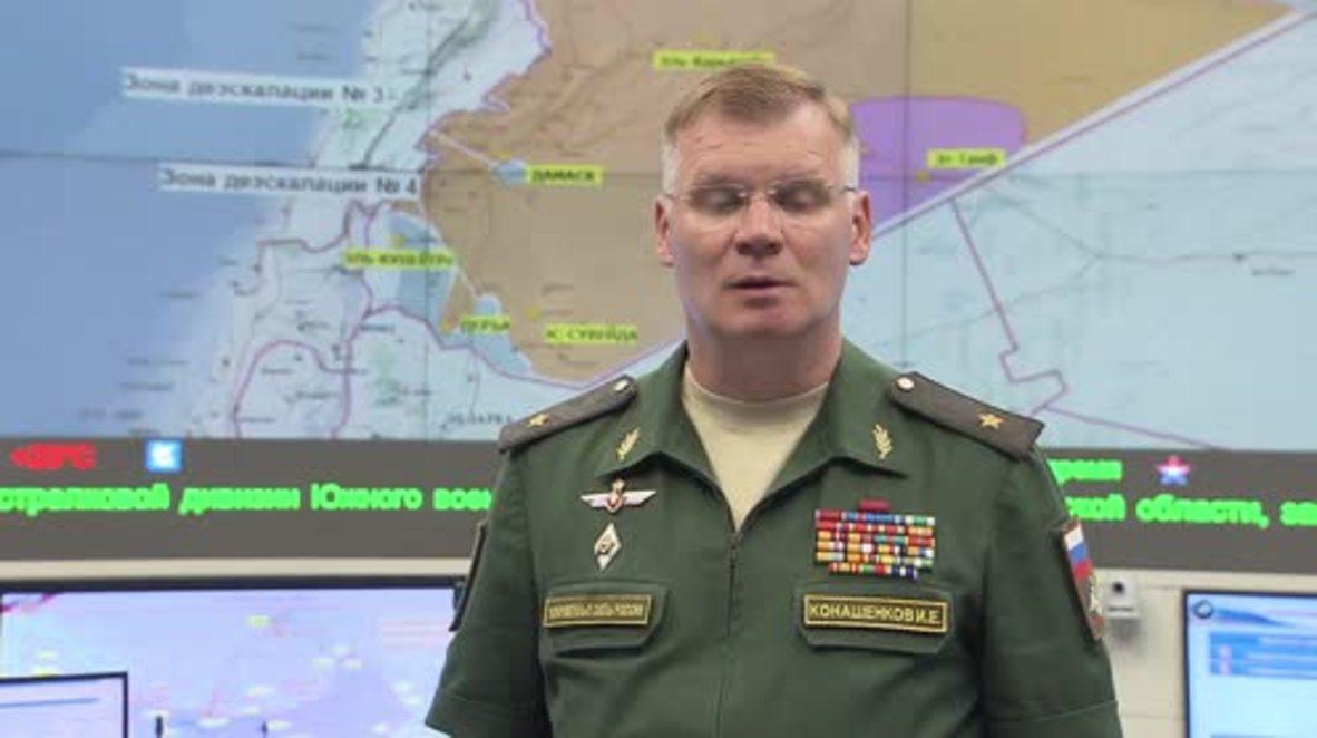 Russia: Third de-escalation zone established in northern Homs – MoD