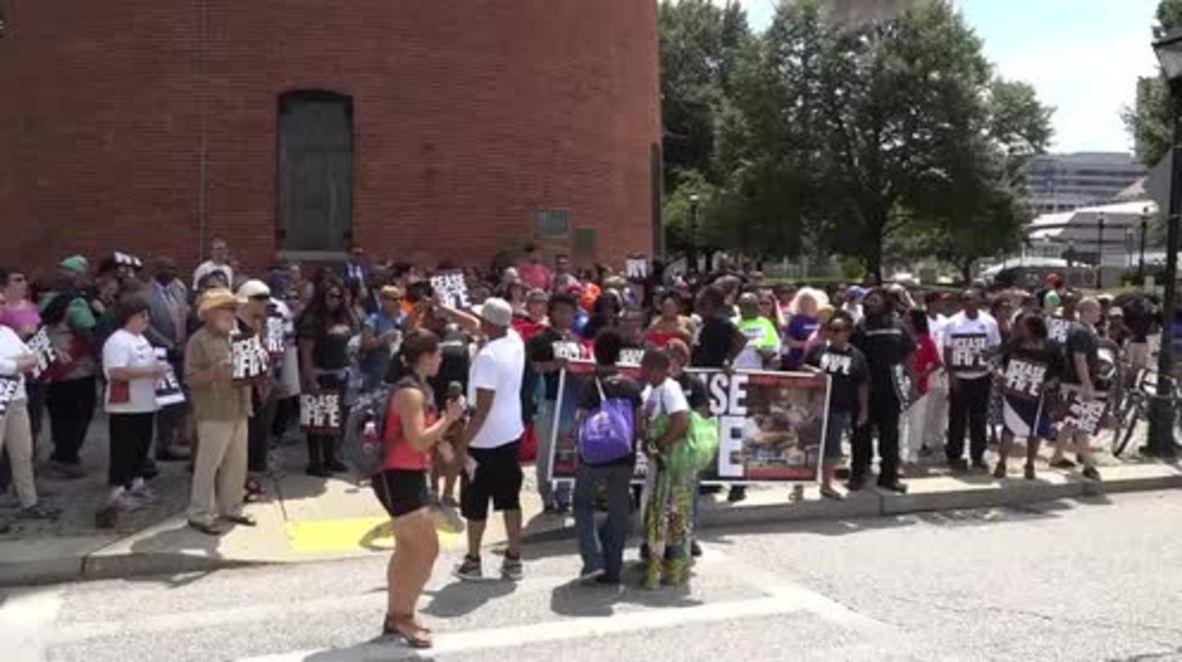 USA: Activists declare three day Baltimore ceasefire 'a success'
