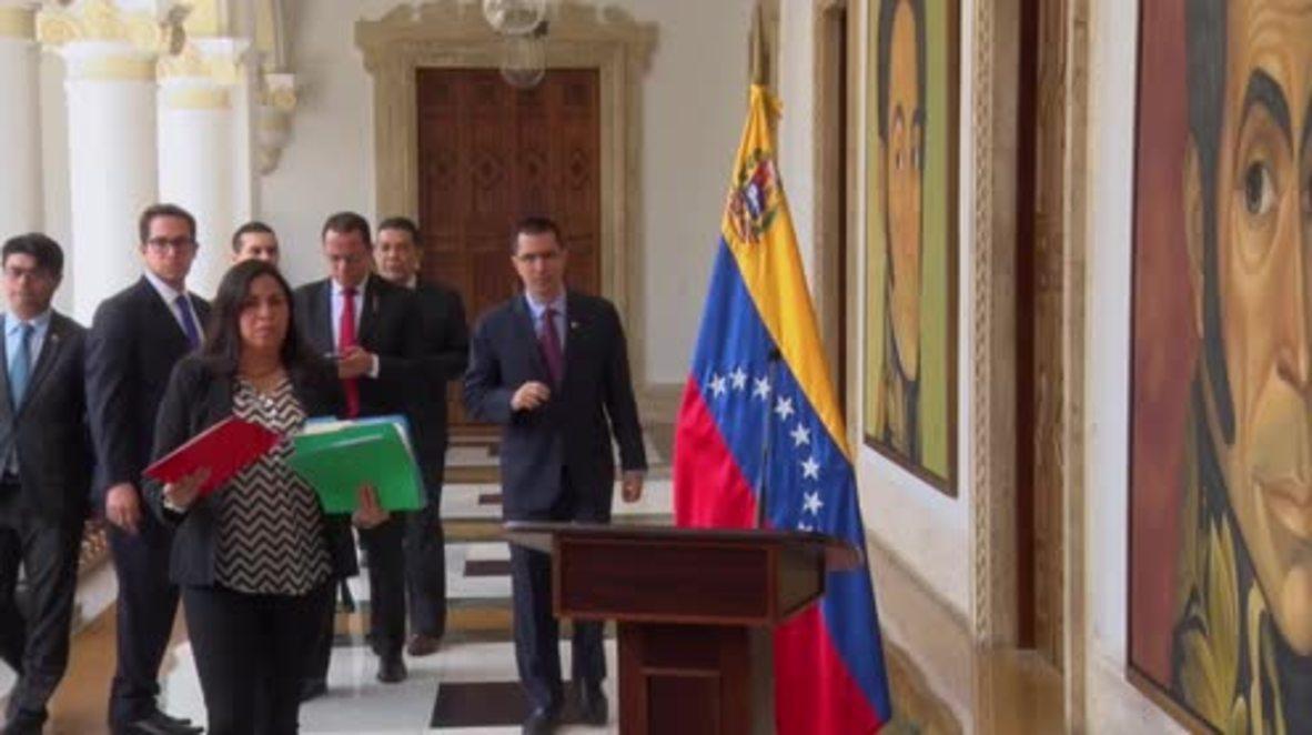 Venezuela: 'Hostile, disrespectful and abject' - Venezuelan FM slams Trump comments