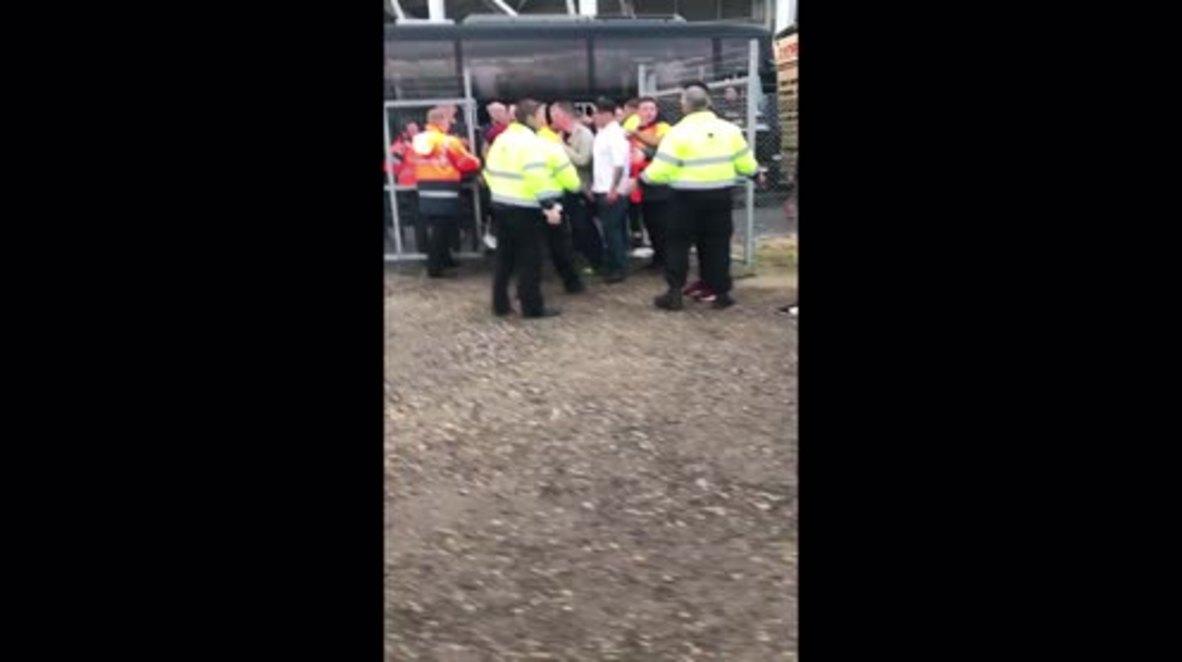 UK: Children injured as brawl erupts at Middlesbrough-Sheffield Utd game