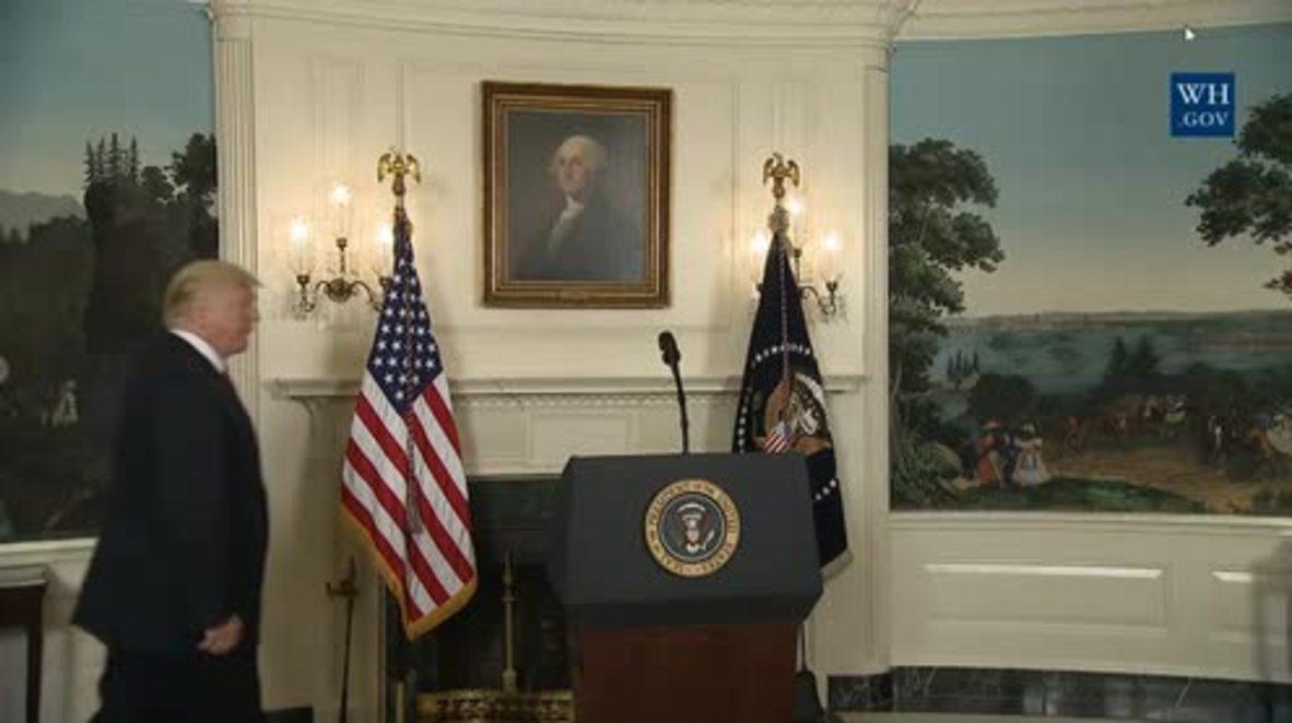 USA: Trump condemns 'racist violence' following Charlottesville attack