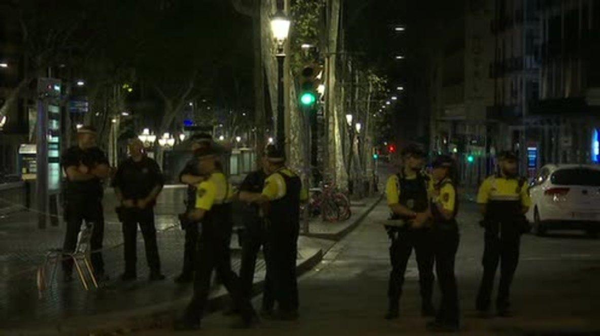 Spain: Police lock down Las Ramblas after deadly van attack