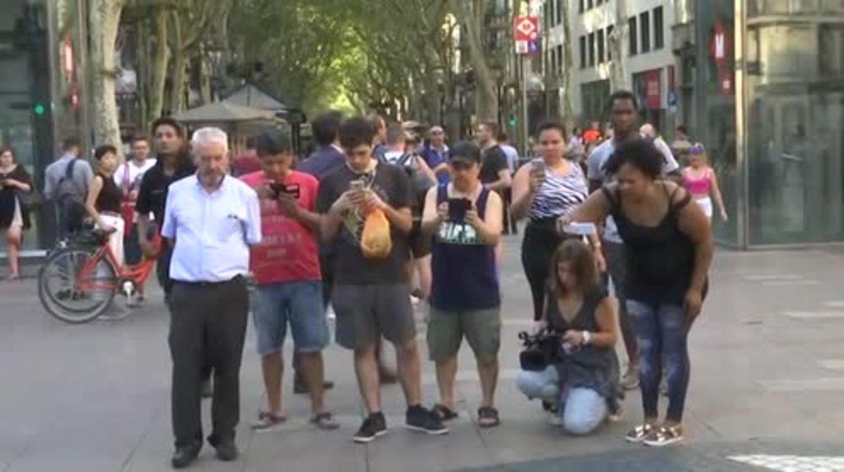 Spain: Eyewitness gives harrowing account of Barcelona van attack