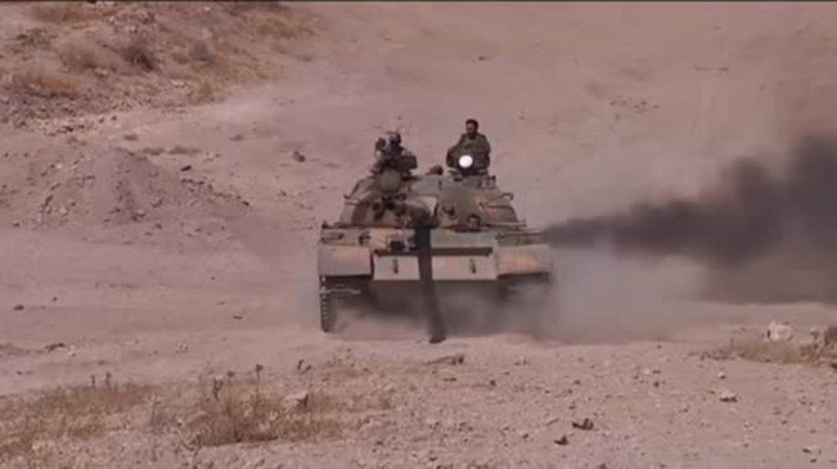 Syria: SAA encircle IS militants amid offensive to break blockade of Deir ez-Zor