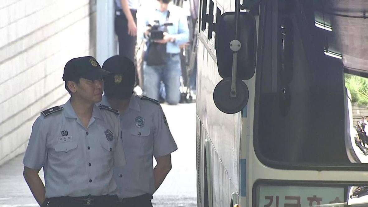 South Korea: Samsung's heir Lee Jae-yong handed 5 year sentence for corruption