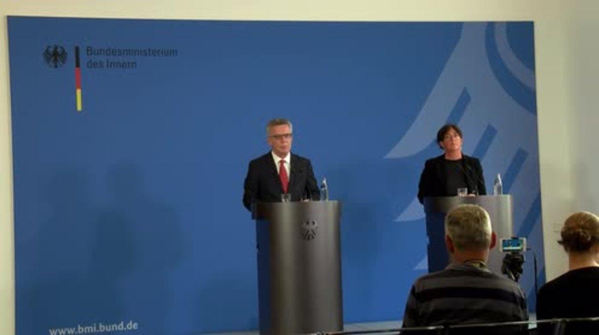 Germany: De Maiziere announces ban of 'left-wing extremist' Indymedia website