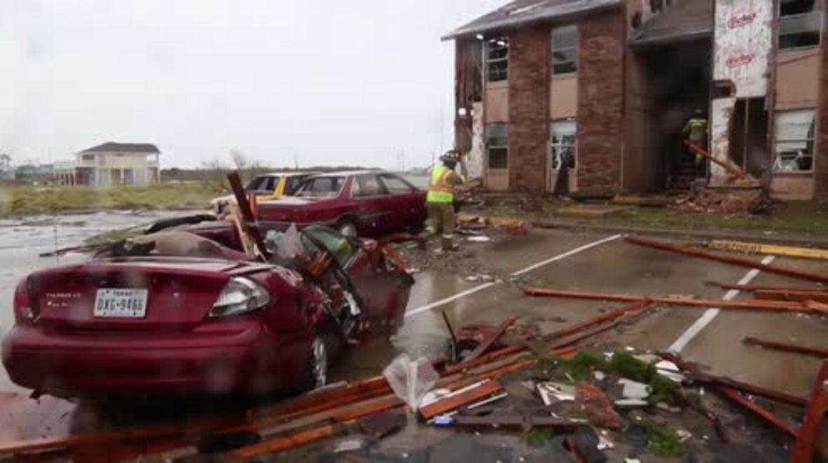 USA: One dead as Hurricane Harvey wreaks havoc in Rockport