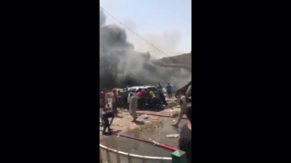 Iraq: At least 10 killed after car bomb rocks market in eastern Baghdad