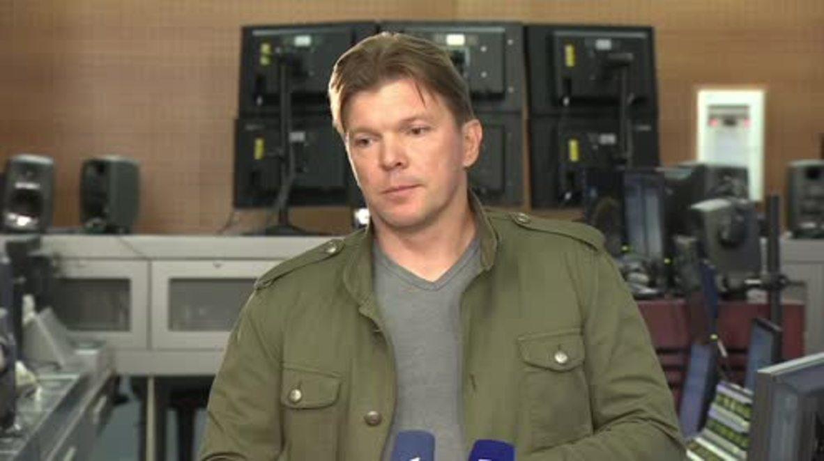 Russia: 'I'm speechless' Channel One deputy director on expulsion of Russian journalist from Ukraine