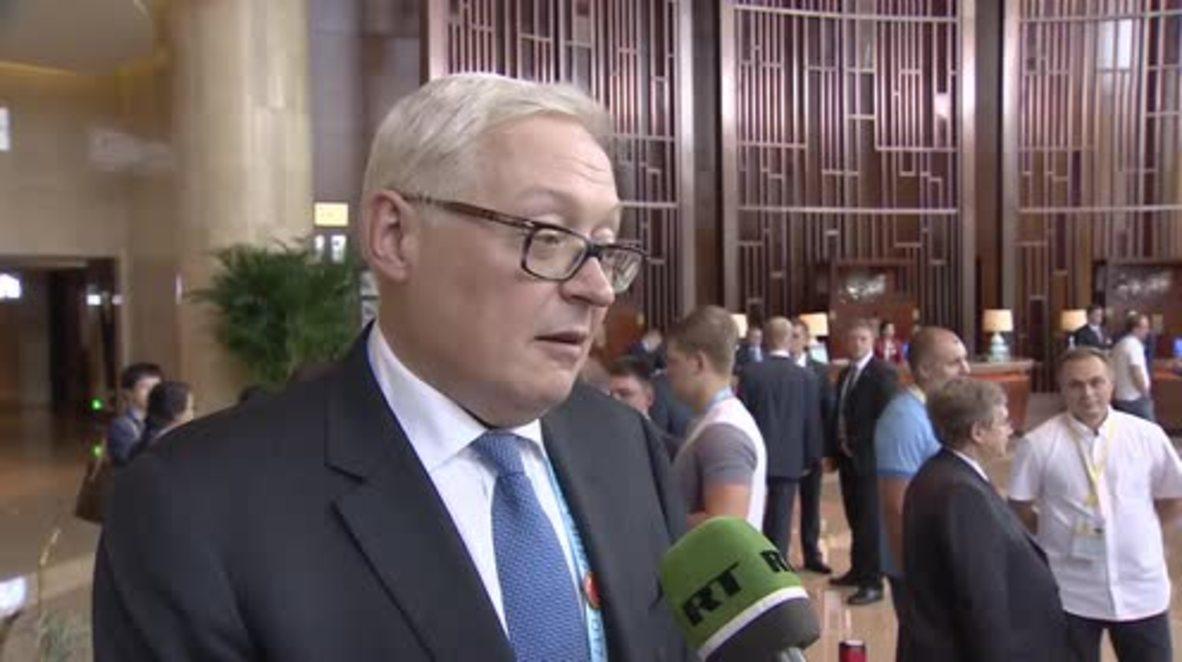 China: 'No result through pressure' - Russian deputy FM on N. Korea nuclear test