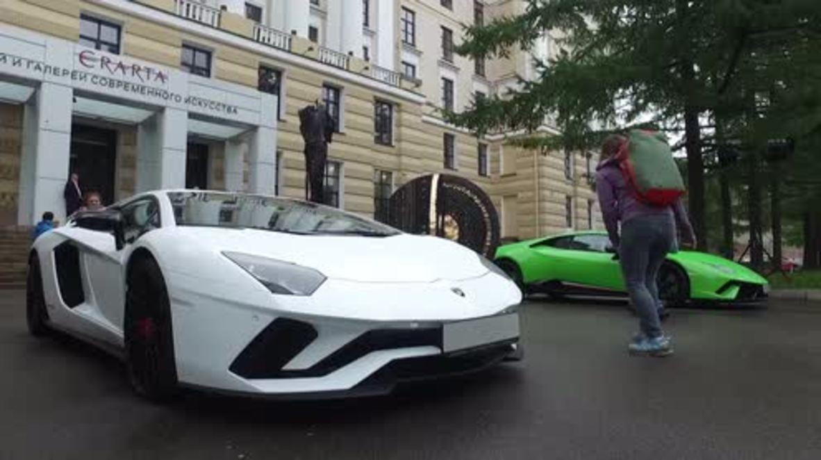 Russia: 'Lamborghini - Legend of Design' exhibit showcases rare models at St Petersburg's museum