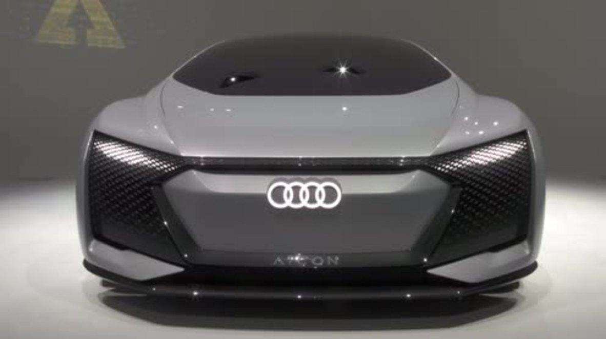 Germany: Audi reveals maximum luxury self-driving car concept