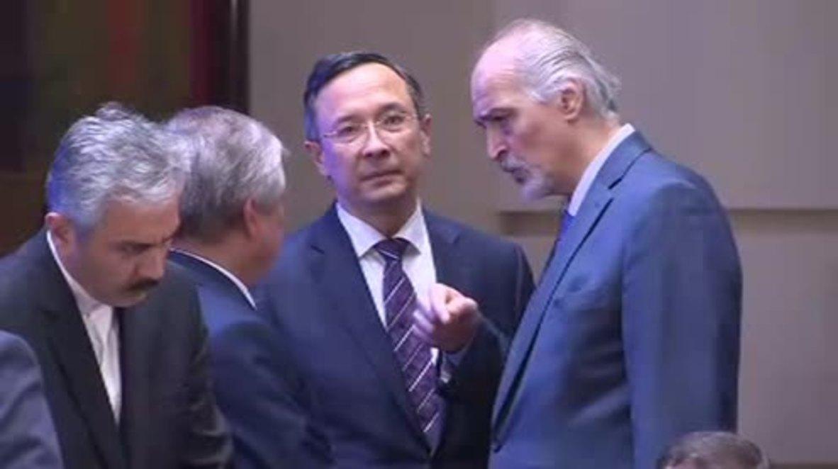 Kazakhstan: Key documents on de-escalation zones approved at Astana- based Syrian peace talks