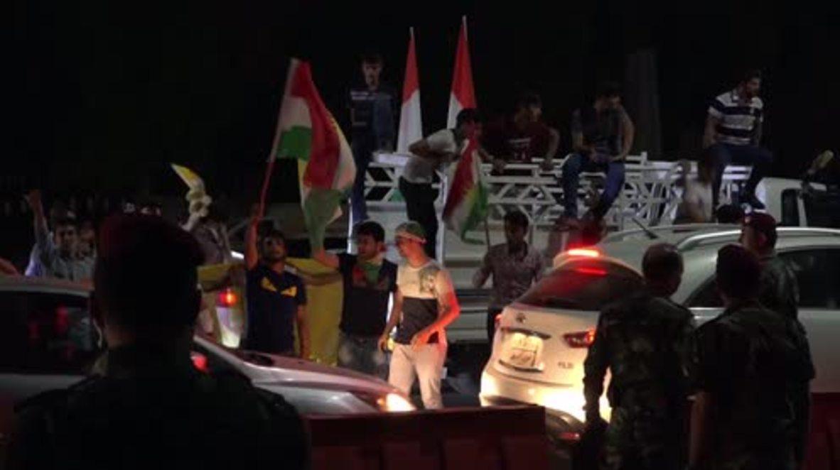 Iraq: Kurdish Parliament supports referendum vote despite Baghdad's opposition