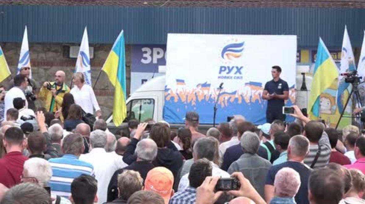 Ukraine: 'I have no right to return until I have travelled all over Ukraine' - Saakashvili