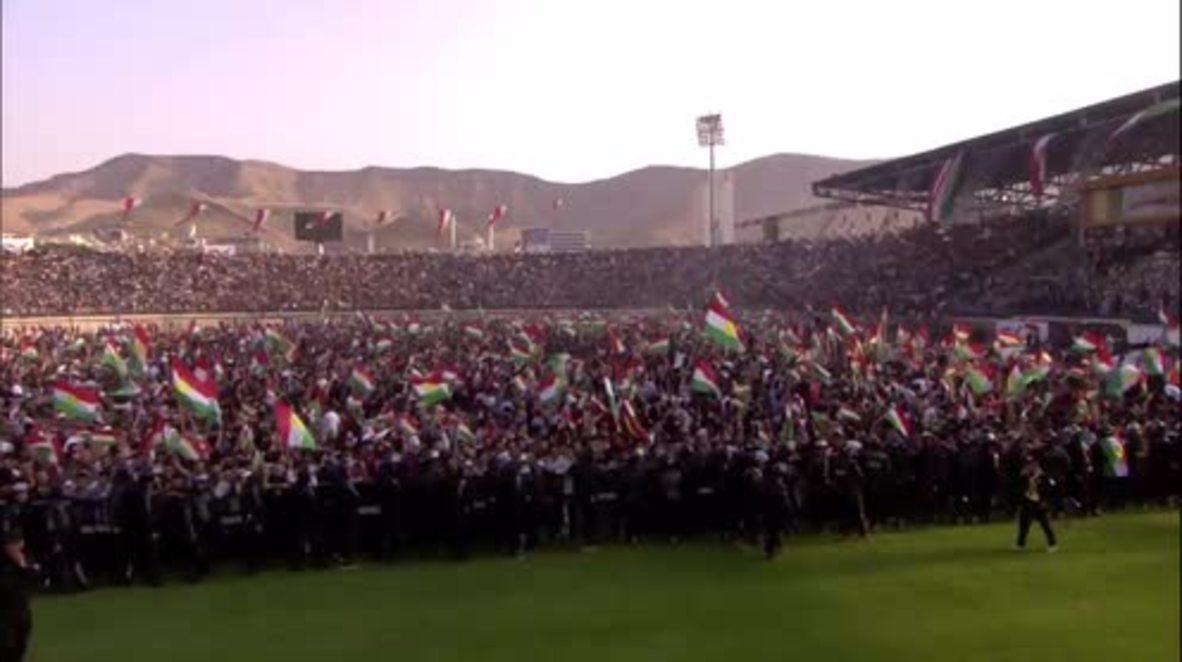 Iraq: Kurds 'do not take legitimacy from anyone' – President Barzani