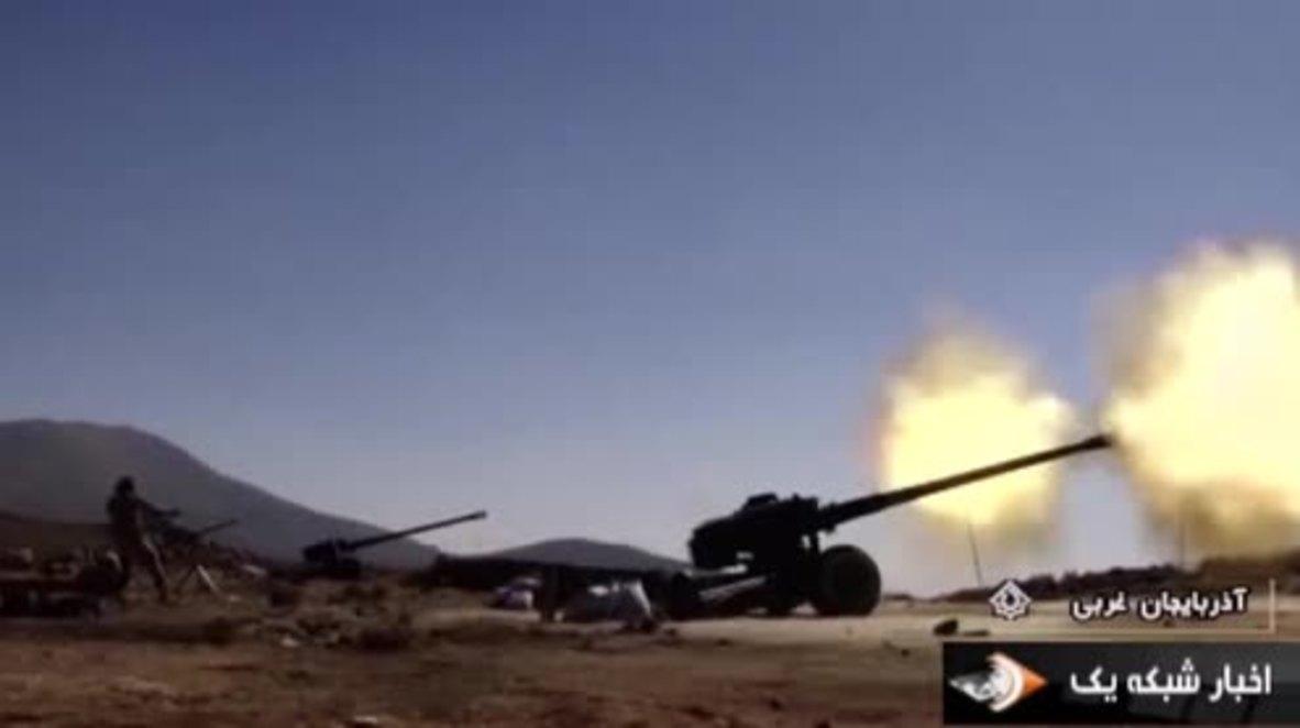 Iran: Artillery drills conducted near Iraq border ahead of Kurdish referendum
