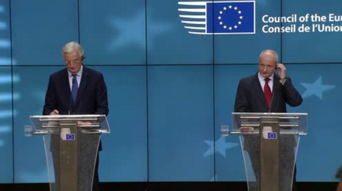 Belgium: EU 'keen' to understand how UK PM's speech will translate into negotiations – Barnier