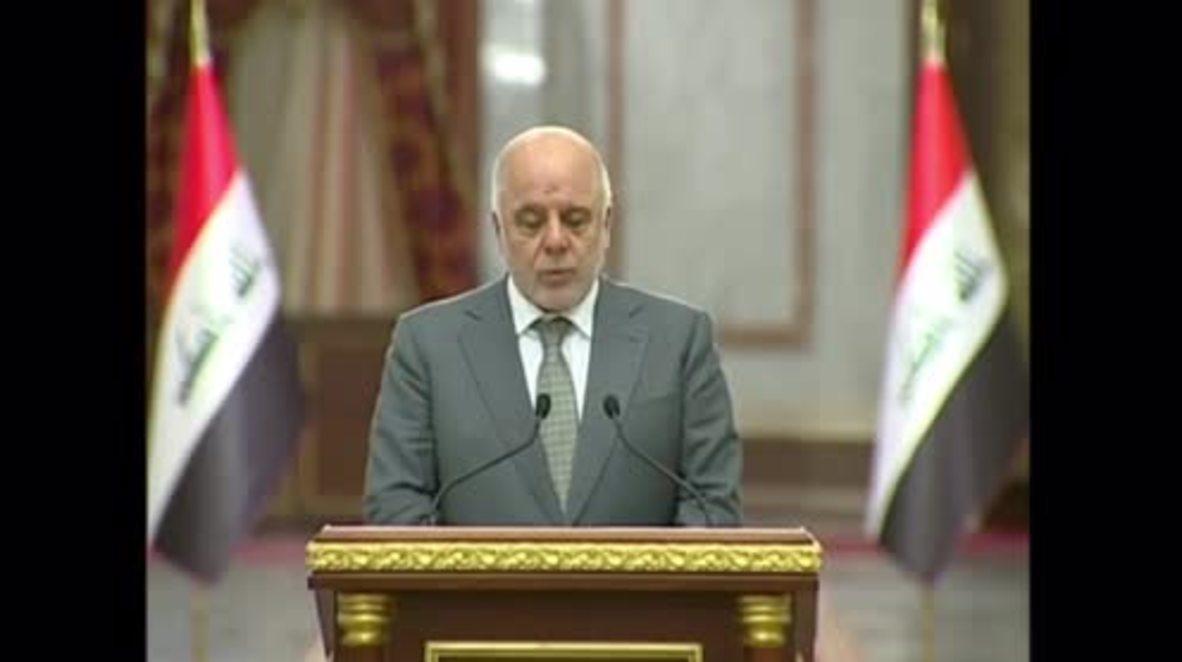 Iraq: Surrender airports or face flight ban - Iraqi PM to Kurdistan