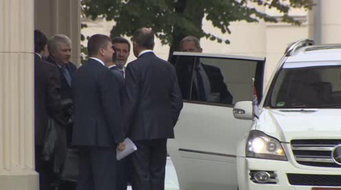 Russia: North Korean officials depart Lavrov meeting