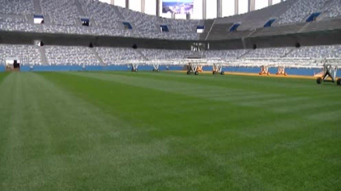 Russia: 'It's a fantastic arena' - FIFA delegation inspects Nizhny Novgorod stadium