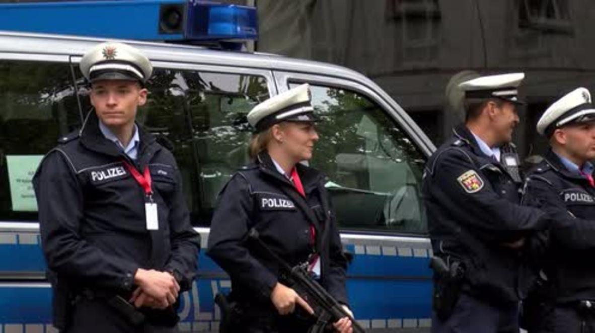 Germany: Mainz beefs up security ahead of Merkel's German Unity Day visit