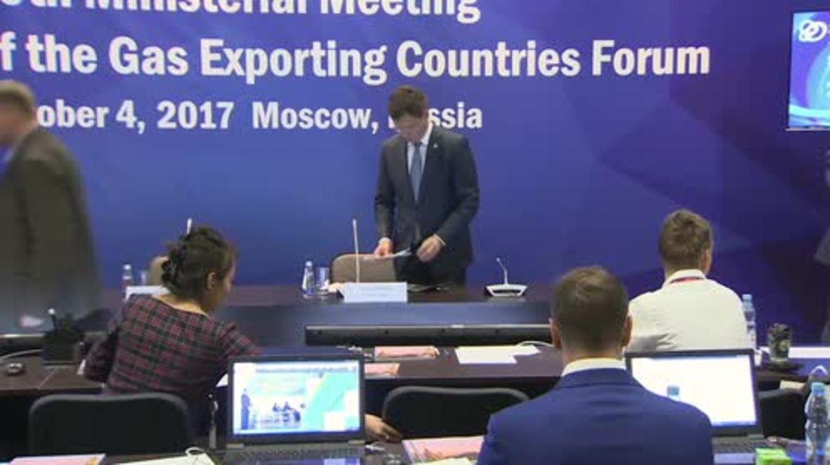Russia: Deputy EnMin Sentyurin appointed SecGen of Gas Exporting Countries Forum - Novak