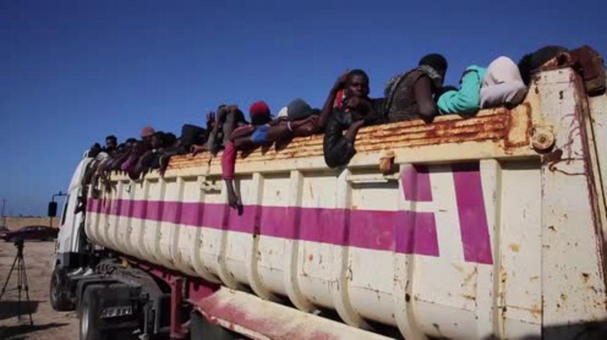 Libya: Over 3000 migrants arrested, after being found in smuggler camps