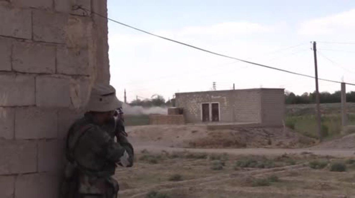 Syria: SAA retakes Hatla village in Deir ez-Zor after fierce battle with IS *EXCLUSIVE*