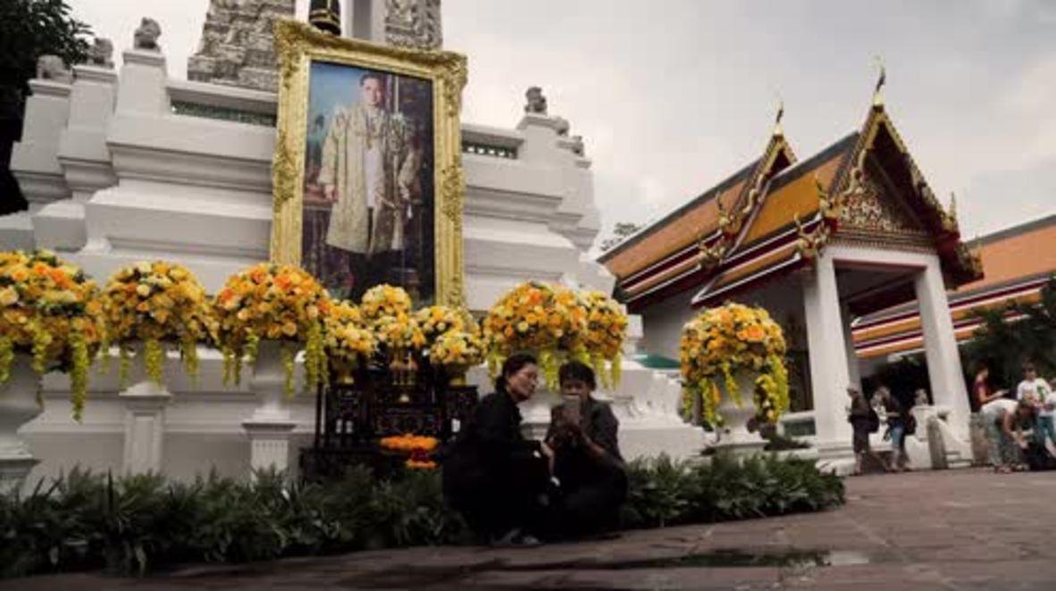Thailand: Followers prepare to bid King Bhumibol Adulyadej farewell a year after death