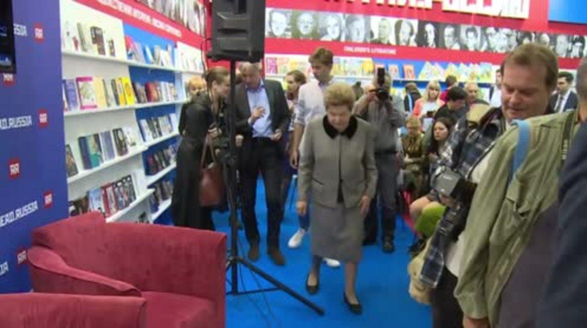 Germany: Yeltsin's widow presents new memoir at Frankfurt Book Fair