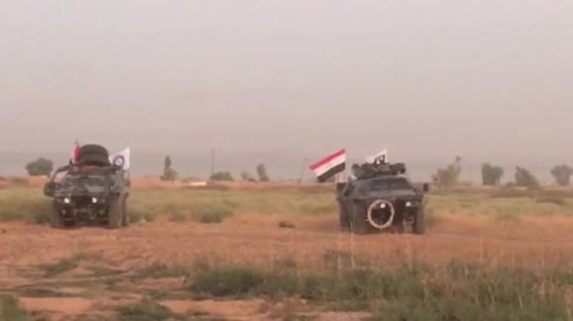 Iraq: Government forces advance towards Kirkuk