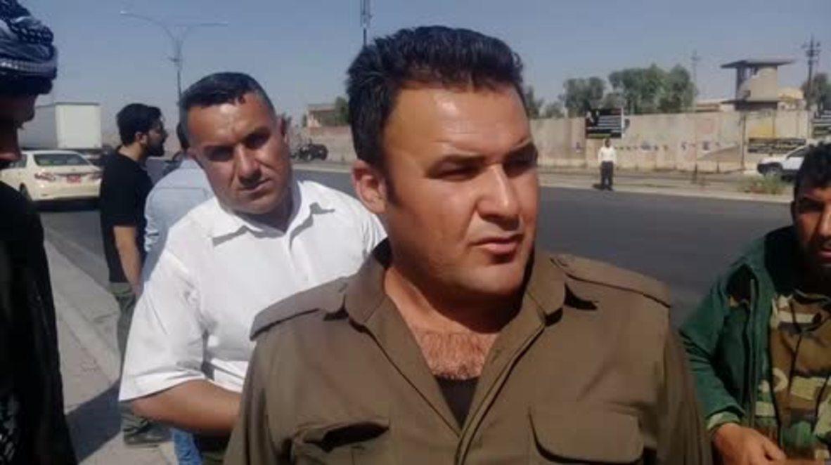 Iraq: Kurds call on international community to help as Iraqi forces seize control of Kirkuk