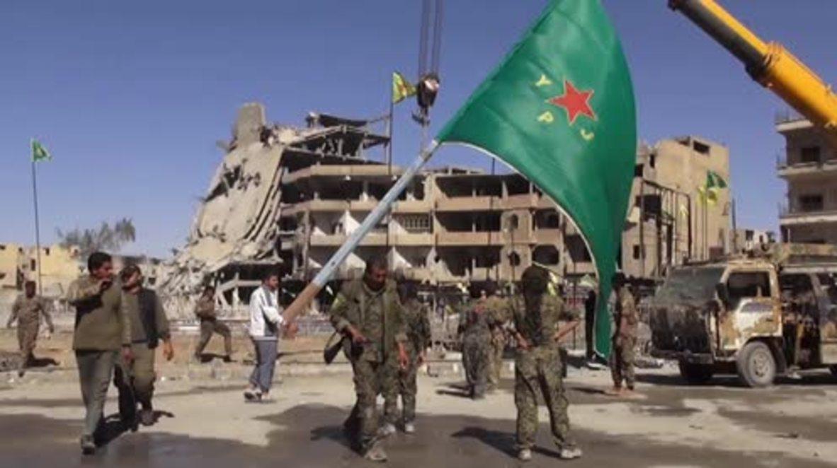 Syria: SDF rejoice at Raqqa liberation