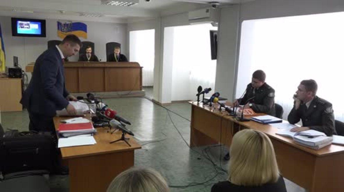 Ukraine: Yanukovich treason case hearing postponed to October 25