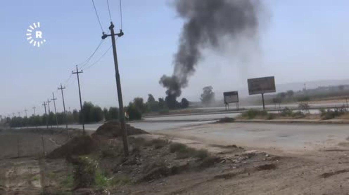Iraq: Iraqi and Kurdish forces clash at Kirkuk's Altun Kupri border