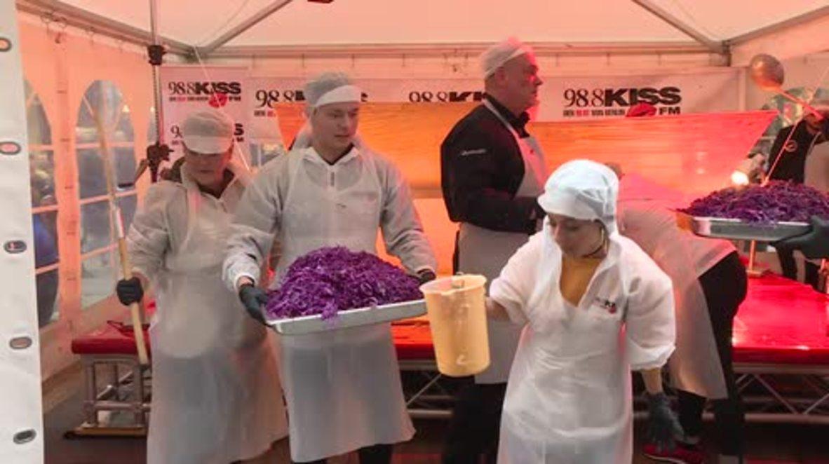 Alemania: En Berlin rompen el récord mundial de doner kebab