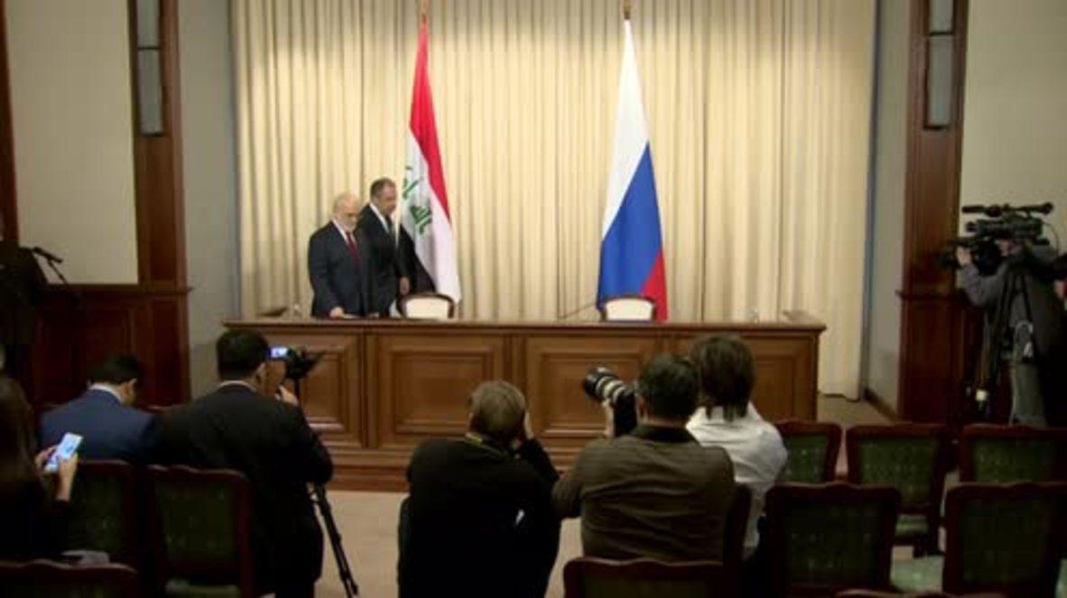 """Russia: Lavrov refutes Erbil consulate closure refusal as """"explicit disinformation"""""""