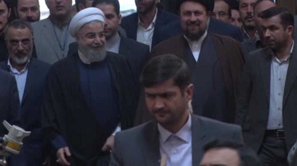Iran:  'Iran greater than ever' - Rouhani retorts to Trump's anti-Tehran stance